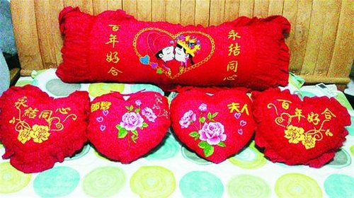 photo of red pillows - China tour
