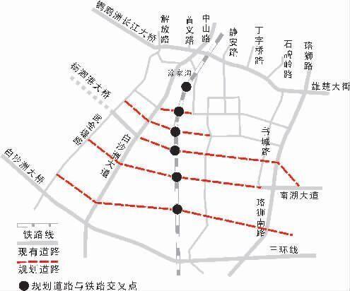 40万南湖居民出行难 6条规划路搁置了20年(图)