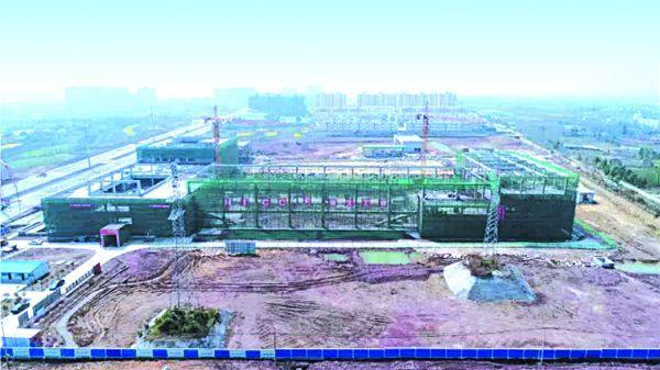 荆门汽车客运南站加快建设 主体工程基本完工