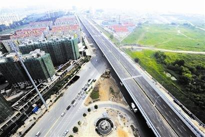 武汉大道月底通车 长江二桥压力将增大(图)