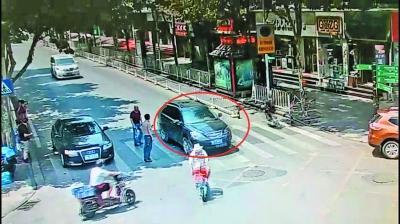 """武汉正式抓拍""""车不让人""""行为 被拍将记3分罚款"""