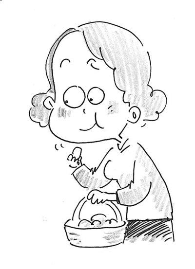 手绘日记素材食物