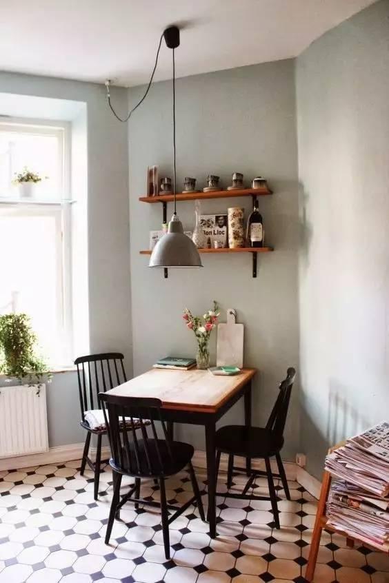 精致实用,小户型餐厅设计不将就!
