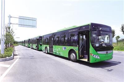 好消息!21辆新能源电动公交车抵达州城(图)