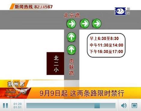 """9日起一批电子警察""""上岗"""" 这两条路段限时禁行"""