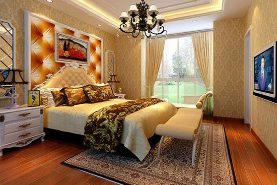 享受品质生活 8款华丽优雅欧式风格的卧室