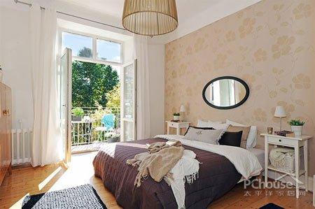 现代北欧风格 卧室装修效果图大全2013图片