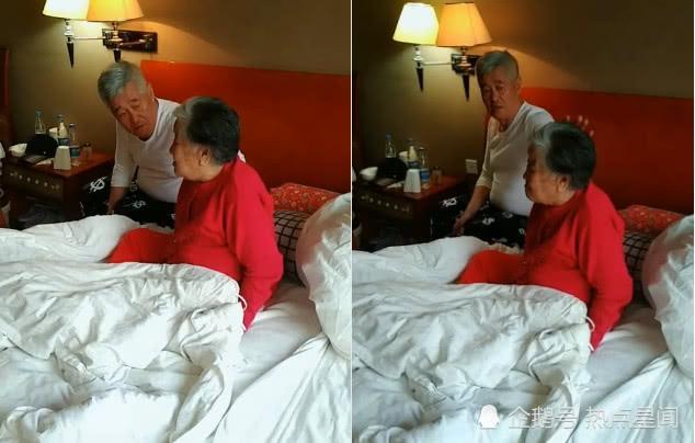 赵本山照顾养母起居 暖心喂饭贴心剪脚趾甲