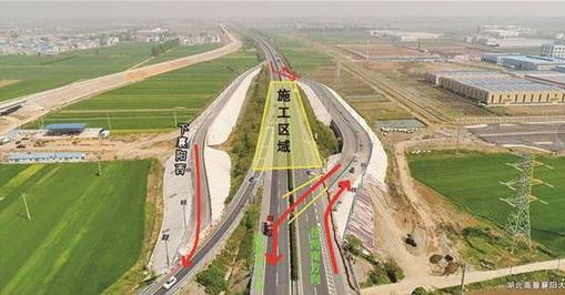 二广高速襄阳西今起封闭改道 但并不影响通行