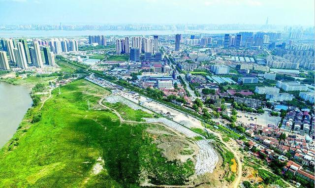 296亩垃圾场变公园 成长江主轴线上最大生态公园