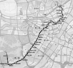 图文:武汉地铁3号线一期9月开工2015年建成