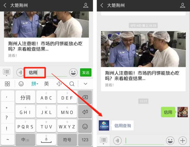 荆州人注意!微信这个新功能 可查个人和公司信用了
