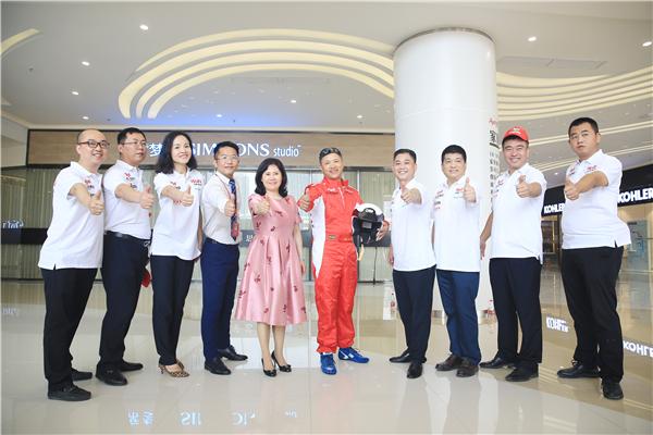 欧亚达出征2017中国环塔(国际)拉力赛