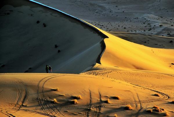 沙漠里竟能养鱼?在巴丹吉林沙漠一切皆有可能!