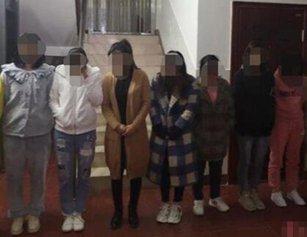 湖北一民房多名年轻女子同时出入 10人被抓