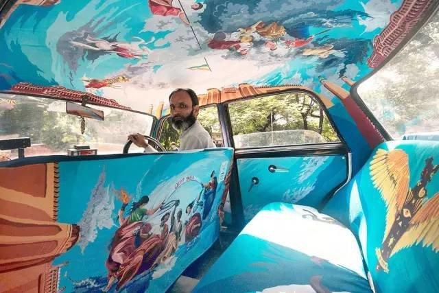 这一定是世界上最美的出租车!