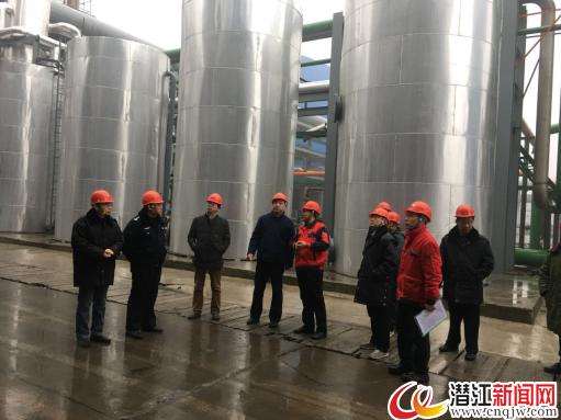 潜江经济开发区竹根滩镇开展节前安全生产检查工作