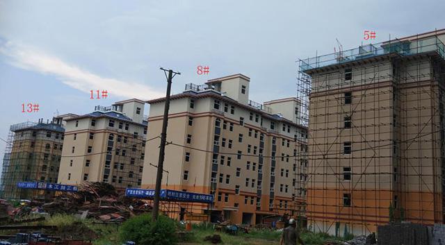 航空花园8月工程进度:这4栋楼10月底将交房
