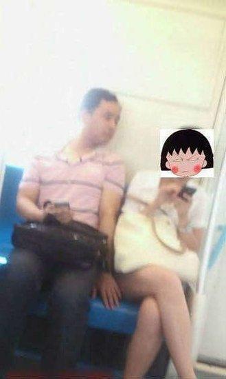 5月20日轨交警方在地铁10号线内抓获一名尾随女子