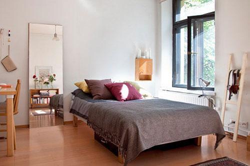 国外小户型装修 美编35平在法公寓