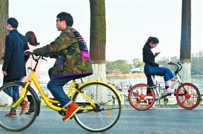 共享单车风靡考验城市管理 解决短途出行难题