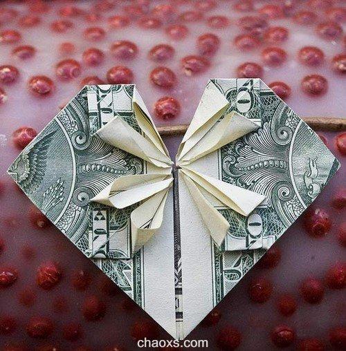 有创意!钱币玩儿折纸游戏_吃喝玩乐_休闲攻略
