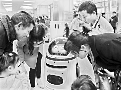 导医机器人有望听懂方言 上岗一个月能答120多个问题
