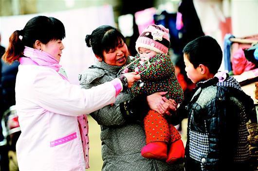 应城加大二孩政策和计生知识宣传 关爱留守儿童