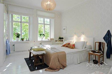 现代北欧风格 卧室装修效果图大全2013图片图片