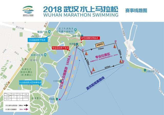 武汉迎来水上马拉松 51名游泳高手周日东湖竞渡
