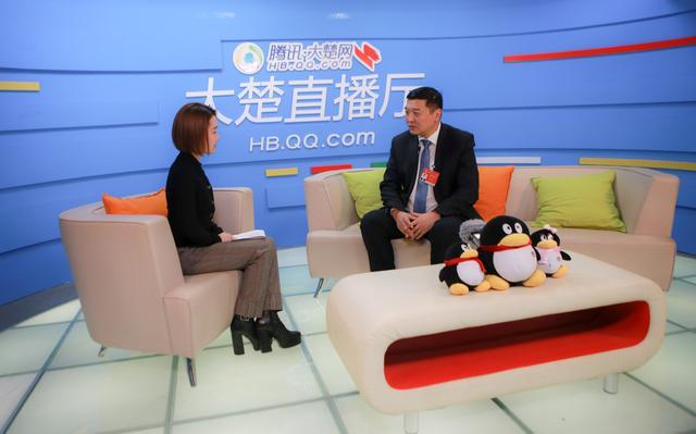 荆门市掇刀区区长做客大楚网:四个创新推动高新区发展