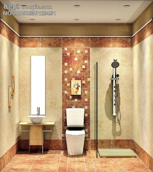 2013小型卫生间装修效果图