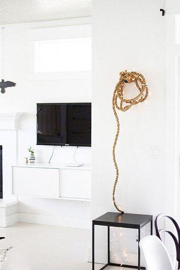 DIY麻绳装饰 家的美丽诱惑图片