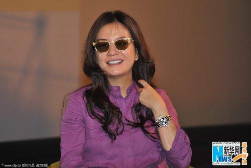 柯蓝,片中演员张瑶,杨子珊及本片监制 关锦鹏 (微博) 也赶来助阵.