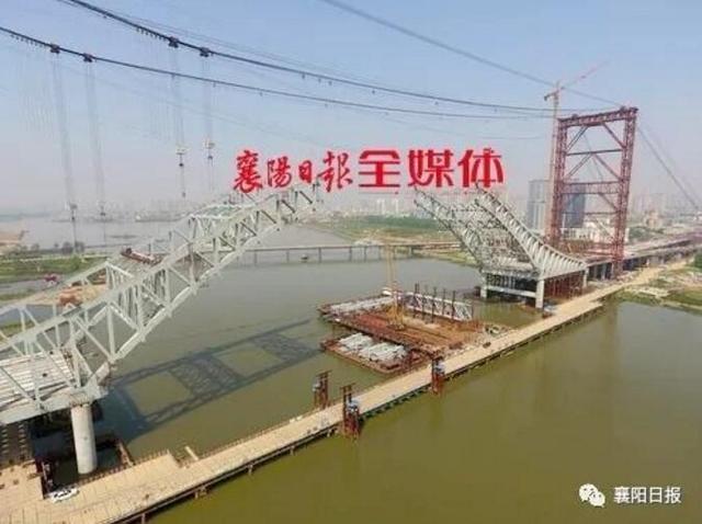 襄阳将新增一条快速通道 双向8车道10月底通车!