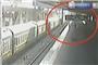 恩施男子和女友吵架 一个箭步跳进火车轨道