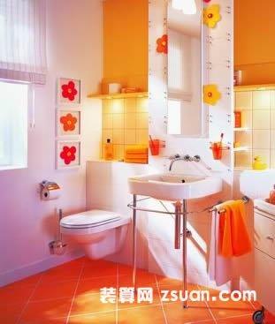 欧式炫丽厕所装修效果图