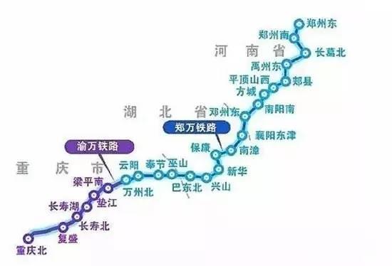 由河南邓州进入湖北襄阳市,经南漳,保康,神农架,兴山,巴东进入重庆市