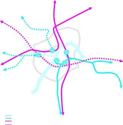 沪渝高铁规划图