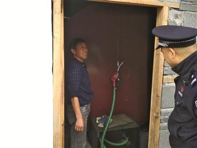 男子为方便自家车加油 私存柴油300公斤被拘留