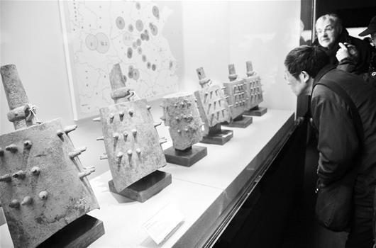 楚国最早编钟首次亮相 百余件青铜器省博展出