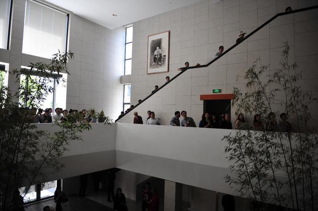 宜昌一二美术馆开馆 周德聪先生书法作品展同步开幕