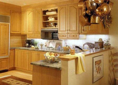 怎么设计厨房能节省空间?