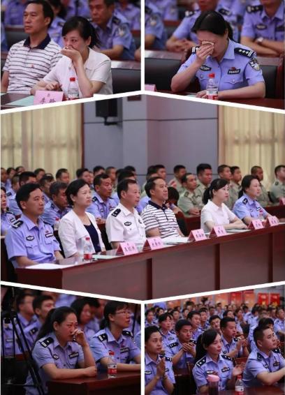 """襄阳市公安局举办""""担当有为狠抓落实""""演讲比赛"""