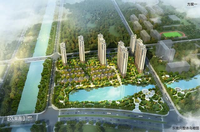 清能学府花园:荆州北芯 一城荣光