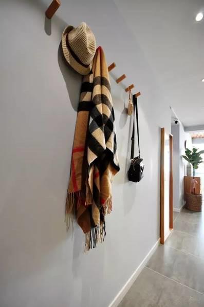 89平轻松北欧三室 客厅墙顶让人倍感温暖