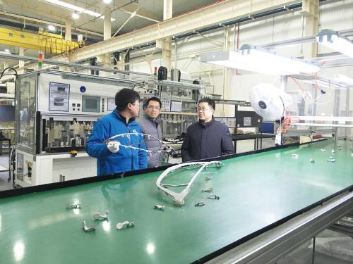 孝感东山头园区企业生产忙 80%规模以上企业复工投产