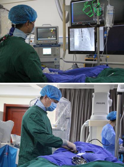 华龙医院成功实施恩施州首例左心耳封堵术
