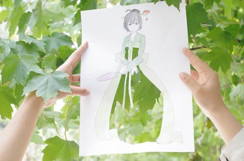 武汉一高校学子把汉服穿在校园身上 创新非遗文化