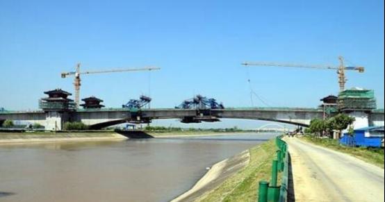 聚焦荆州园博园:海子湖大桥合龙 楚都大道即将贯通